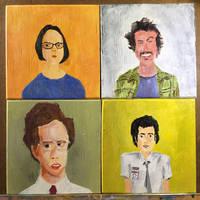 Geek Heroes by vertseven