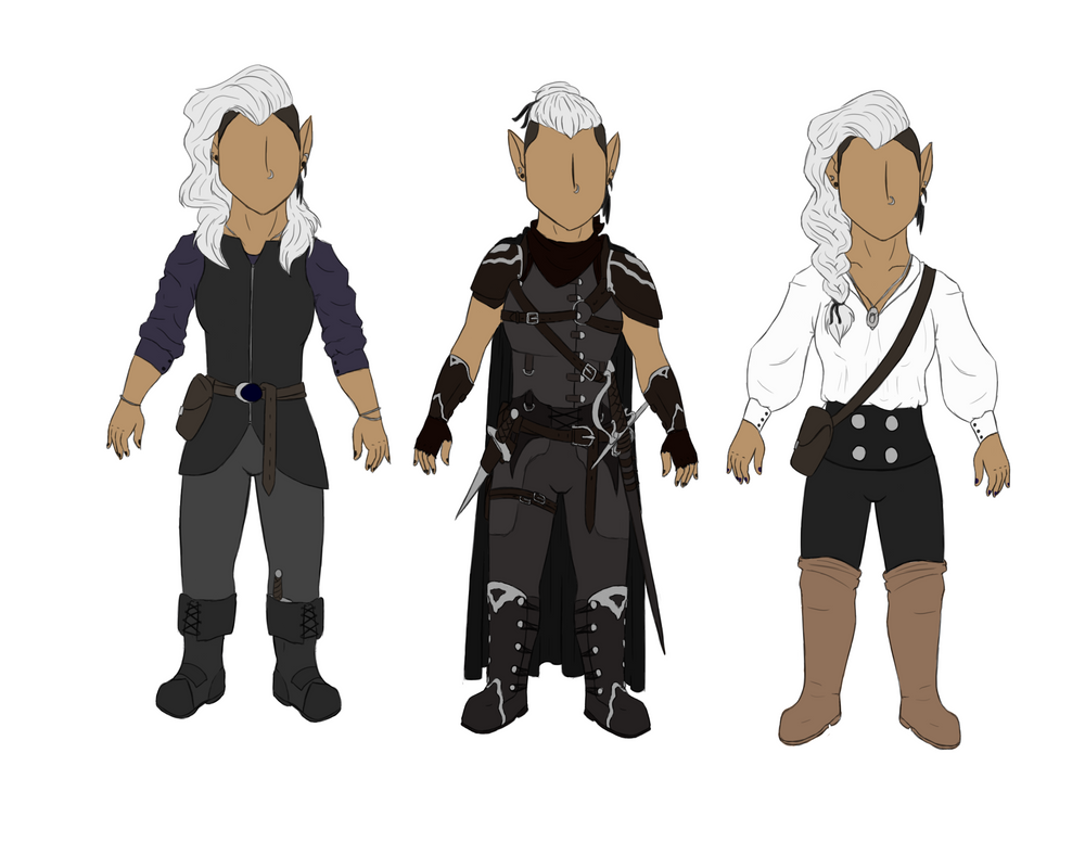 Outfit Designs by Aliyah-Bawks