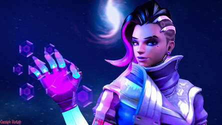 Sombra's Hacking 1920x1080 by ceraphkeilah