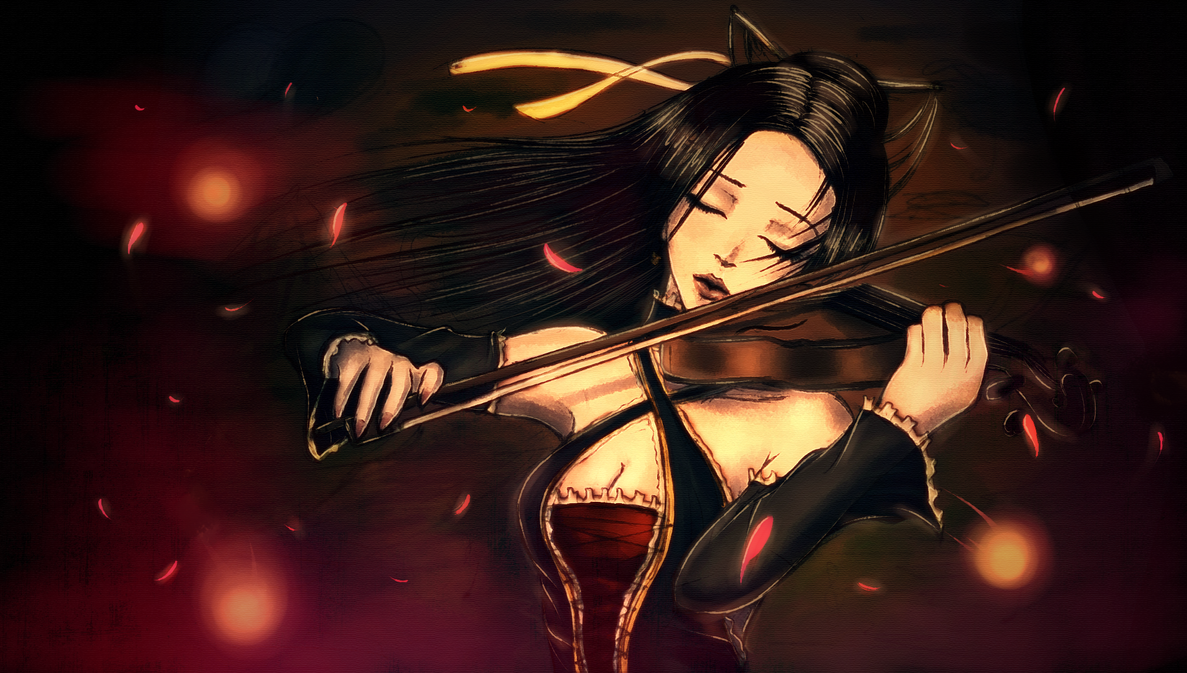 The Violinist by SoraNamae