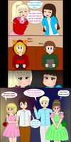 Gender Flip Double Date by scarlet-nekomata