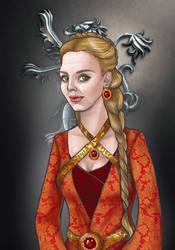 Joanna Lannister by sashotso
