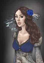 Lyanna Stark by sashotso
