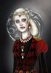 Rhaella Targaryen by sashotso