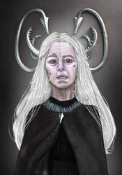 Alannys Greyjoy, nee Harlaw by sashotso