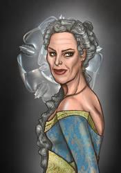 Alerie Tyrell, nee Hightower by sashotso