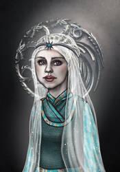 Naerys Targaryen by sashotso