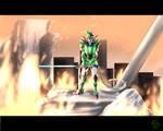 It's the war, Galora by O-DemonKill-O