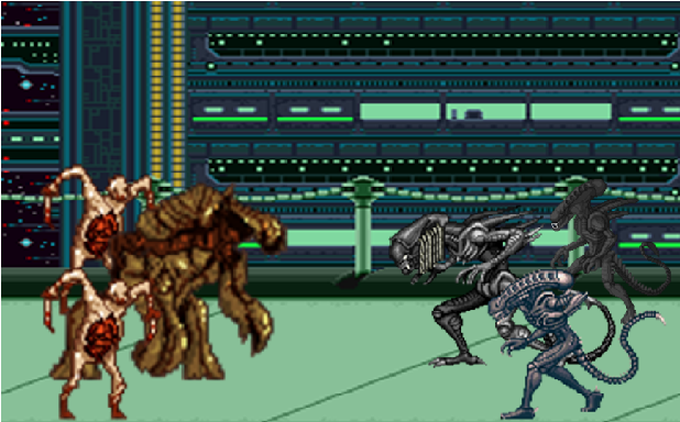 xenomorph vs necromorph - photo #8
