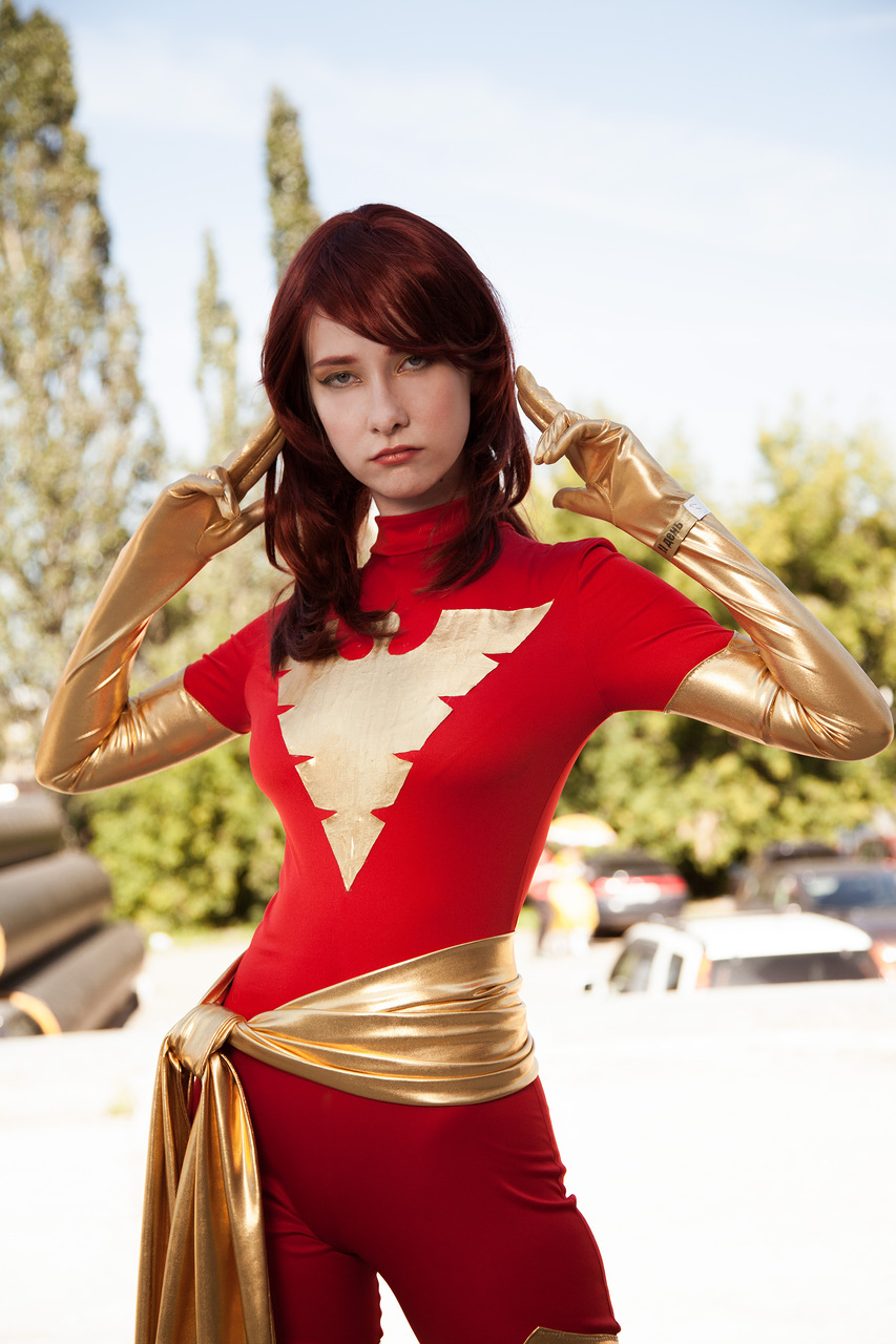 Dark Phoenix cosplay by Shiera13