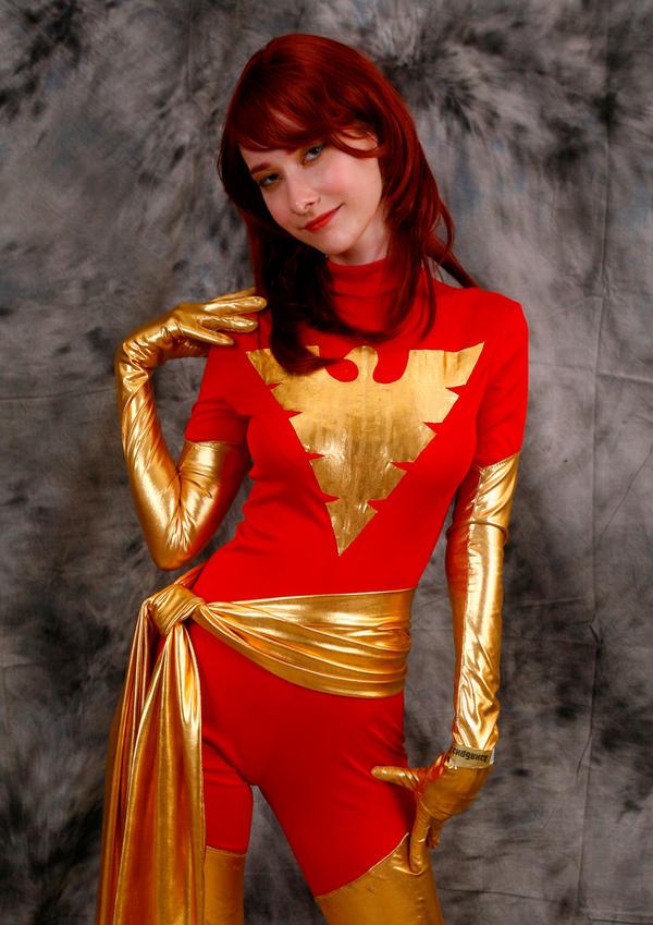 Dark Phoenix cosplay 2 by Shiera13