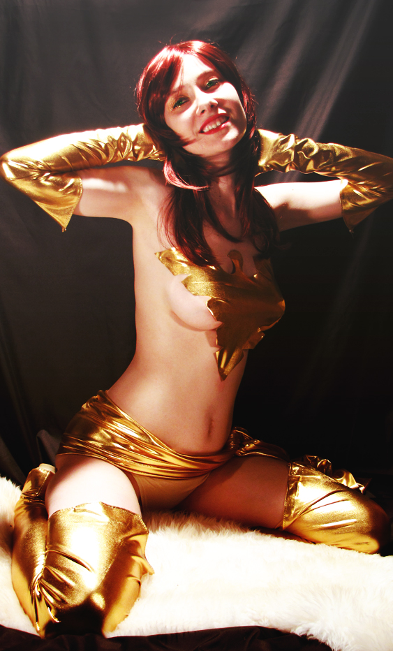 Golden Phoenix 1 by Shiera13