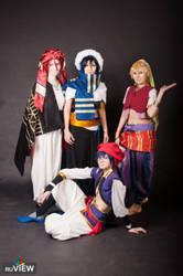 Free! ending cosplay, Koisuru 2014 by Shiera13
