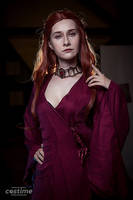 Melisandre cosplay, Starcon 2017 by Shiera13