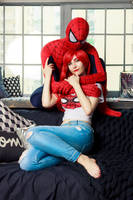 Spider-Man and Mary Jane by Shiera13