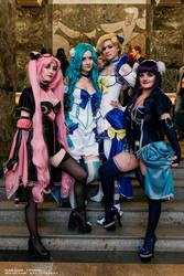Sailor Moon Noflutter cosplay, M.O.Con 2017