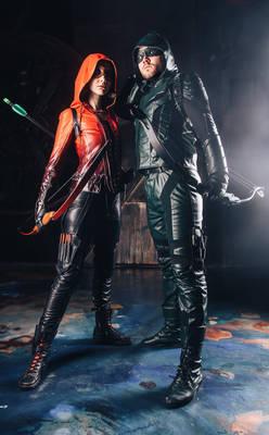 Speedy and Green Arrow