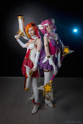 Star Guardians Miss Fortune and Lux, Starcon 2018