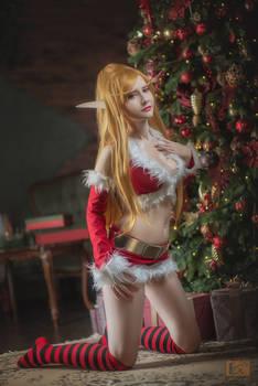 Winter Veil blood elf