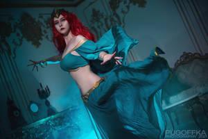 Queen Mera cosplay