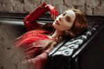 Wanda Maximoff cosplay by Shiera13