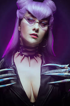 K/DA Evelynn cosplay