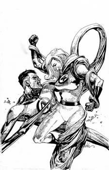 Fantastic Four Leinil Yu Inks