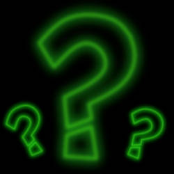 Riddler Glowing logo