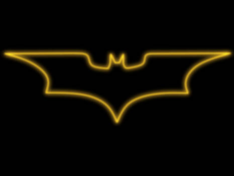 Batman Glowing logo