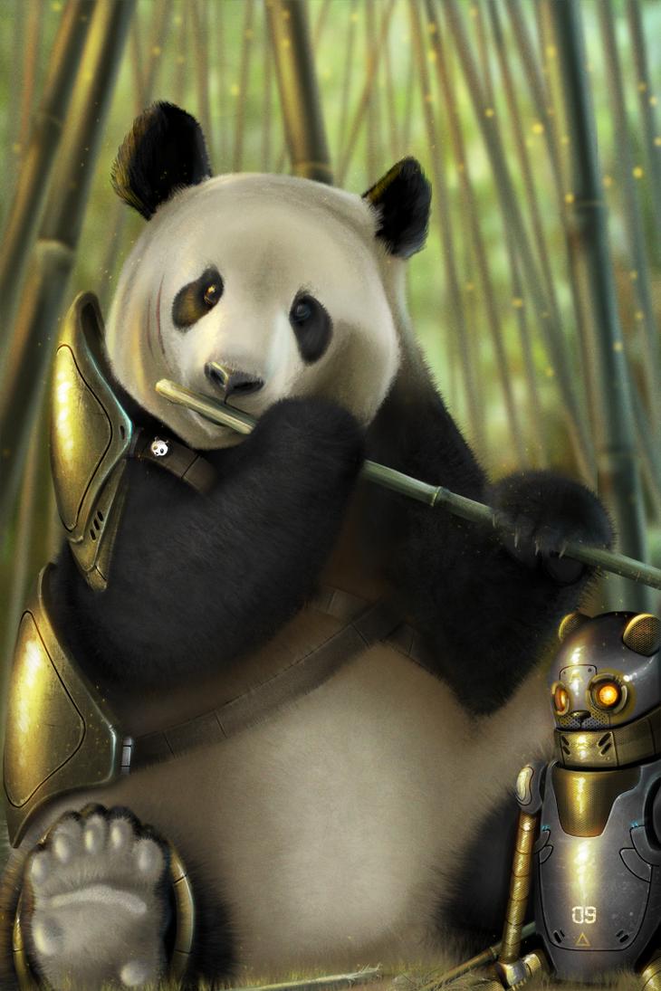 Pandaman by shapesfactory