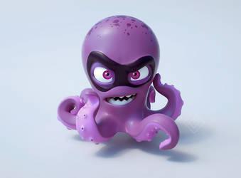 Mel ( 3D Octopus ) by Sarcix82