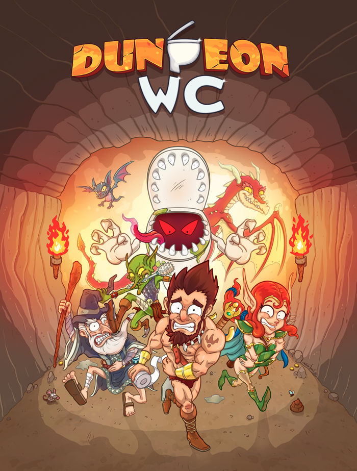 Dungeon WC boardgame