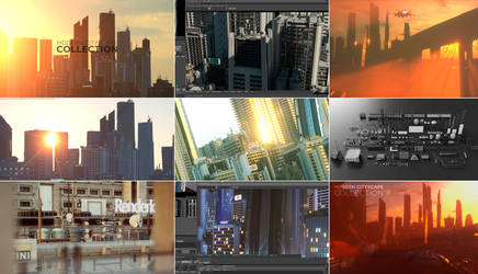 3D Modern Cityscape Collection