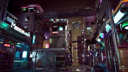 Cyberpunk City 01