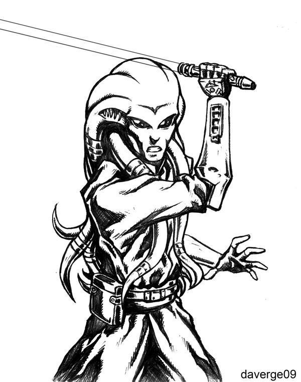 Jedi Master Kit Fisto by daverge on DeviantArt