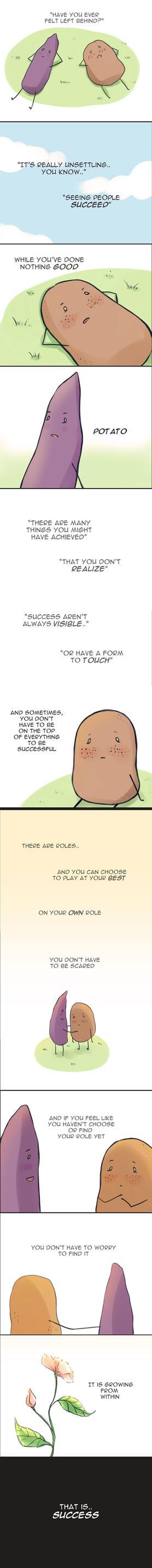 Potato story by roerow