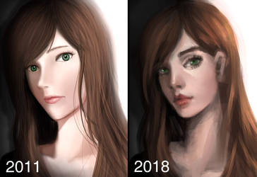 Redraw Challenge! by roerow