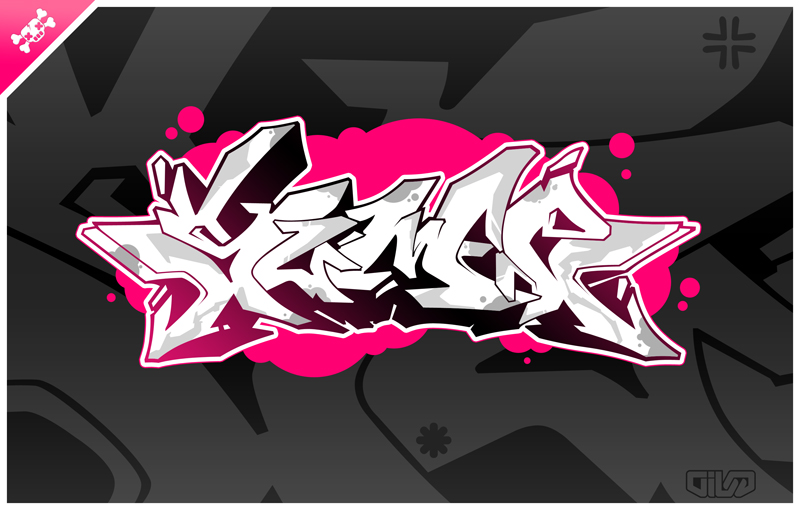 sumoe graff vector by schakalwal