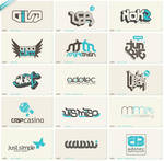 50th anniversary logofolio by schakalwal