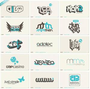 50th anniversary logofolio