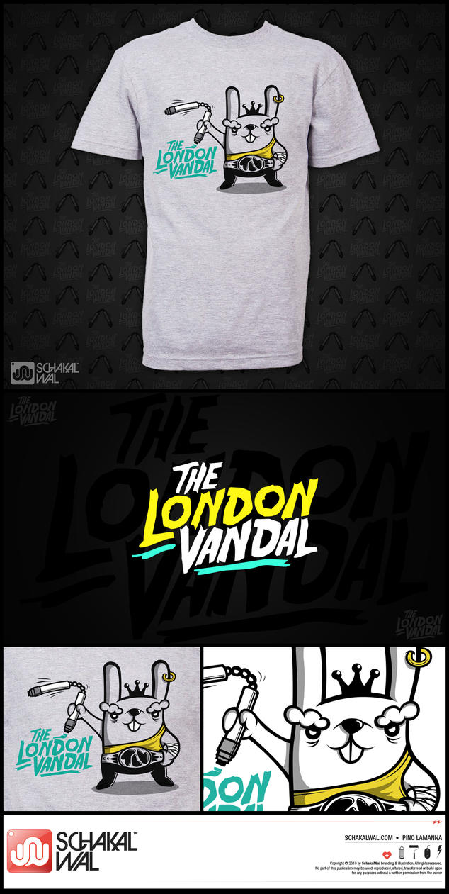 The London Vandal by schakalwal
