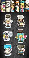 Wuwi Message Toys by schakalwal