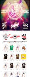 LFR Shop Relaunch by schakalwal