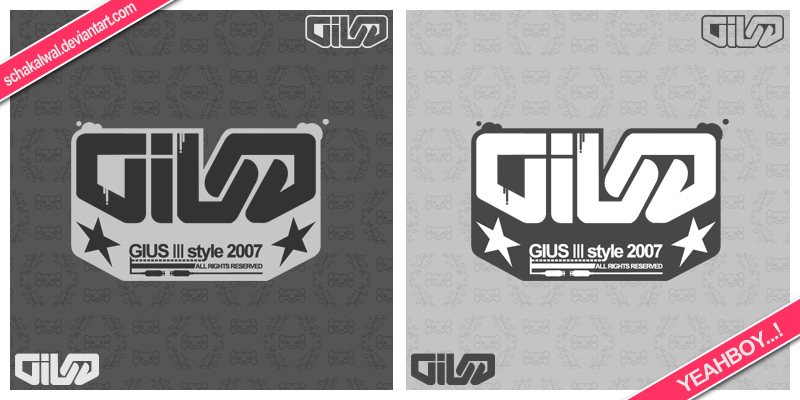 GIUS logotype by schakalwal