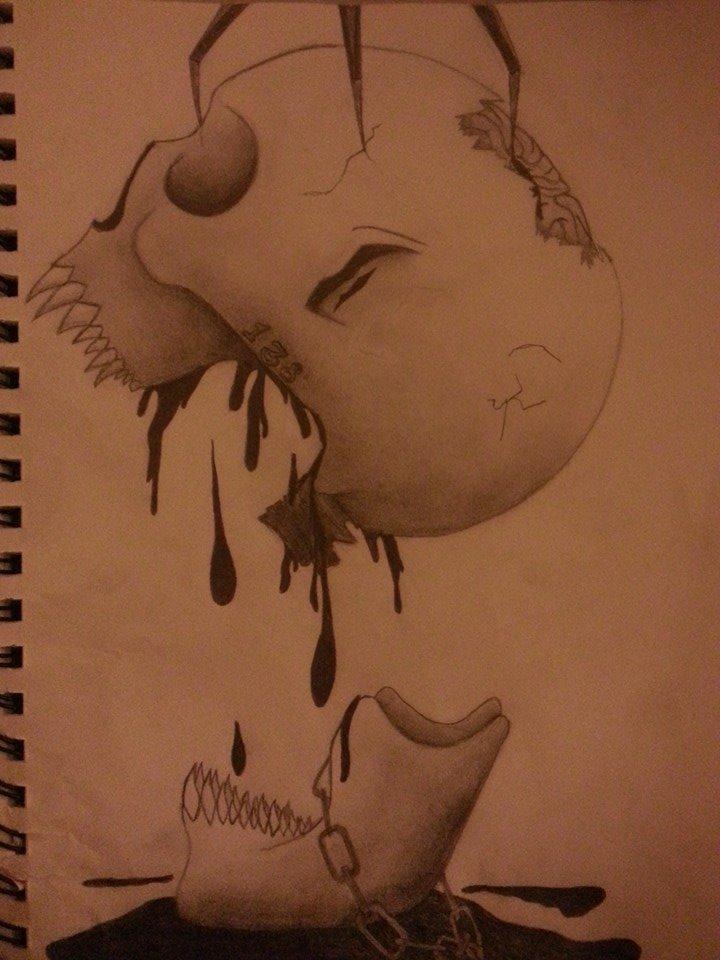 Skull by GrimmKurosaki