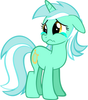 Lyra Crying by RainbowRage12
