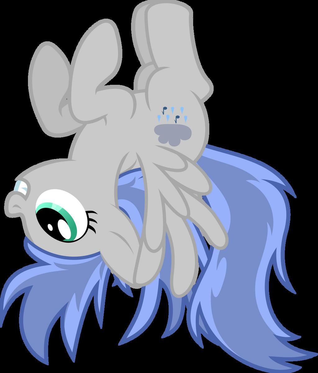 Silverrains upsidedown by RainbowRage12
