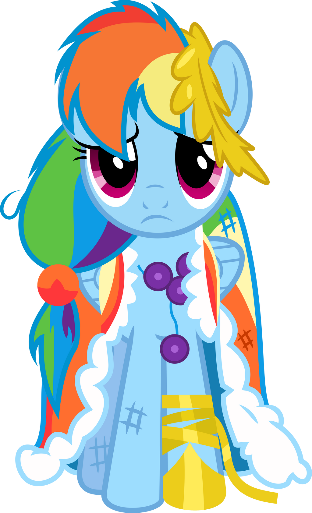 Rainbow Dash's Worst Night Ever by RainbowRage12