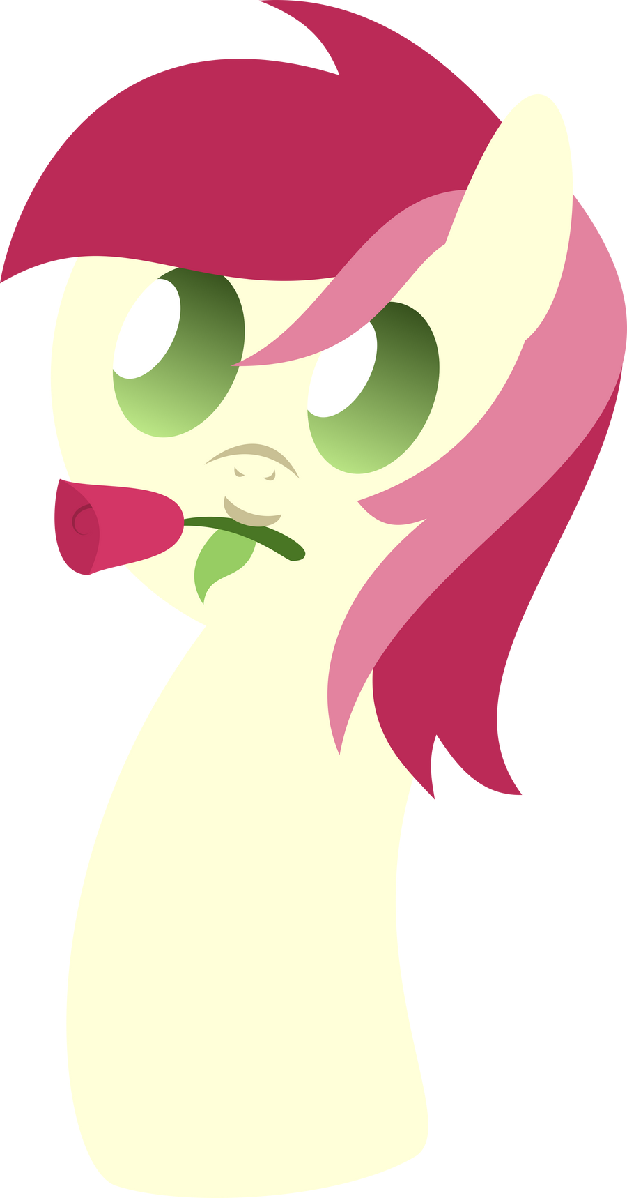 Squishy Rose by RainbowRage12