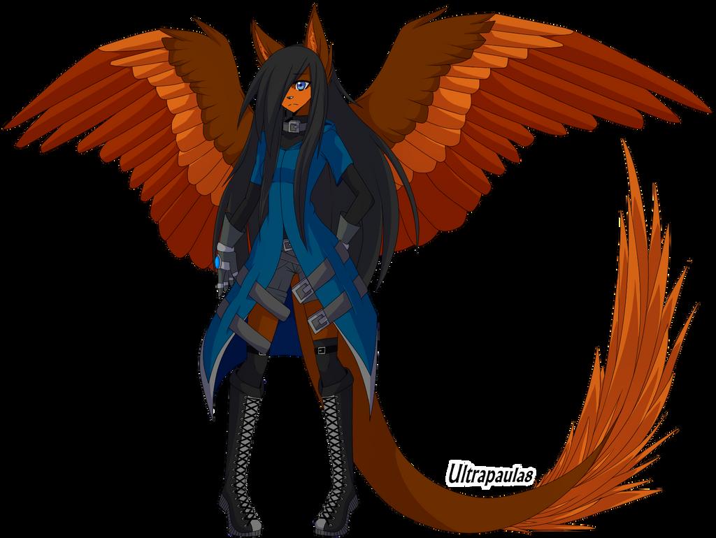 NEW DESING: Pau the Dragonwolf by Ultrapaula8